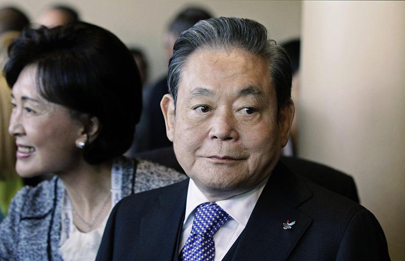 Глава Samsung Electronics Ли Гон Хи