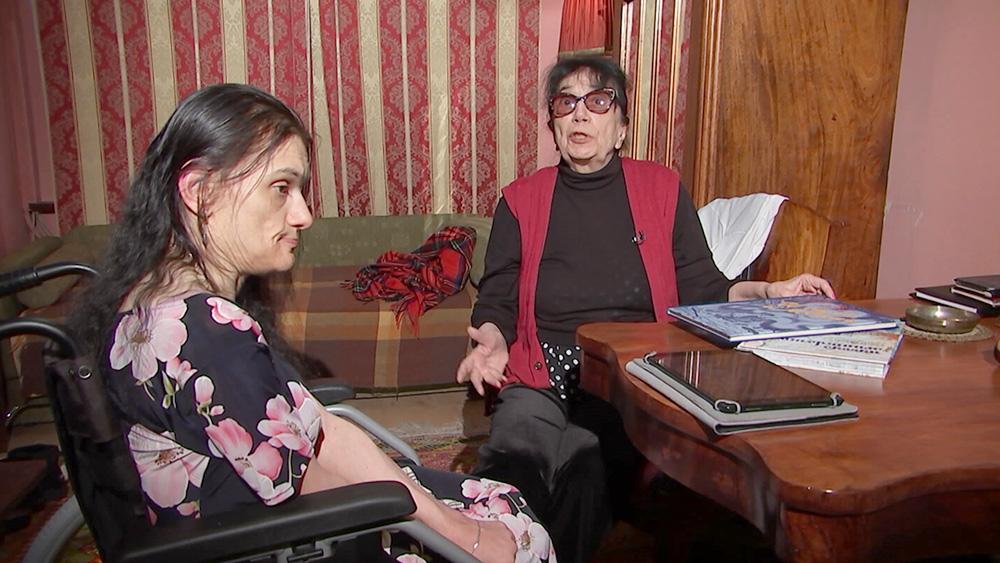Гитана Леонтенко и дочь Мария Баталова