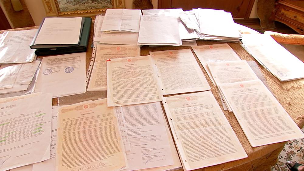 Документы на наследство Алексея Баталова