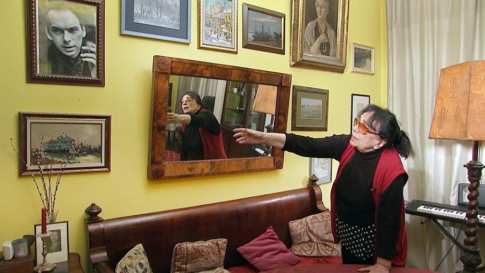 Вдова Алексея Баталова Гитана Леонтенко