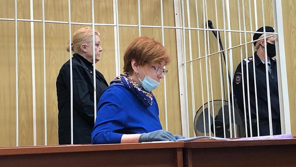 Обвиняемая Наталья Дрожжина по делу о мошенничестве с недвижимостью семьи актера Алексея Баталова