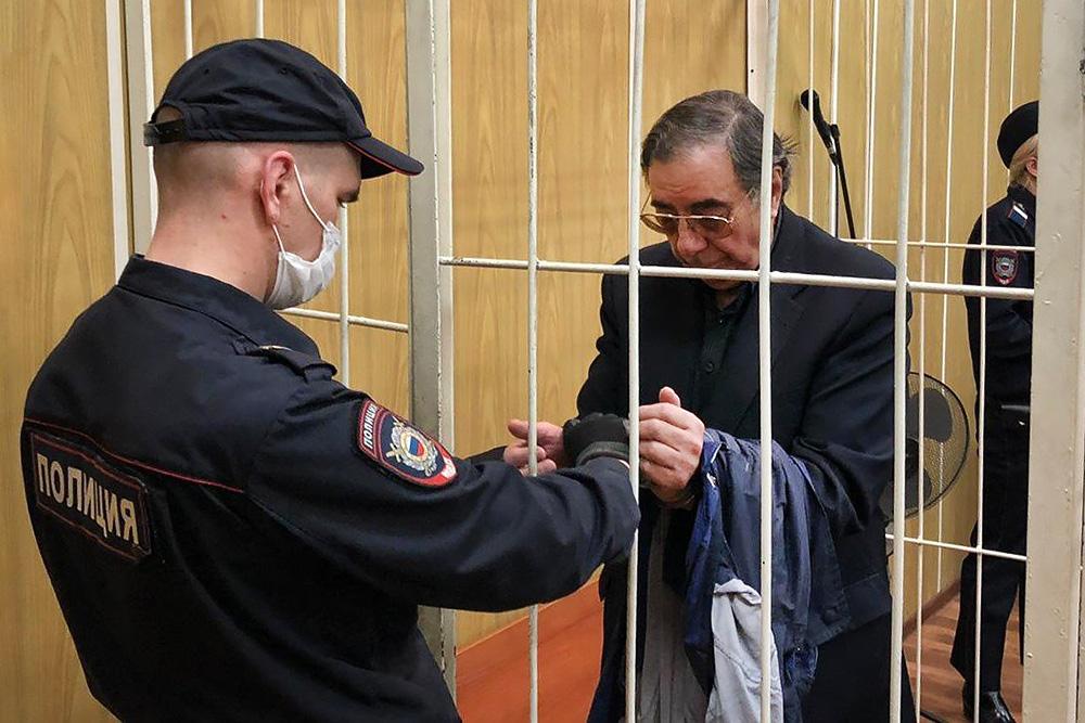 Михаил Цивин в суде