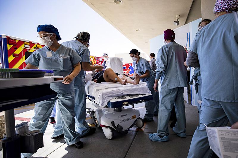 Эпидемия коронавируса в США