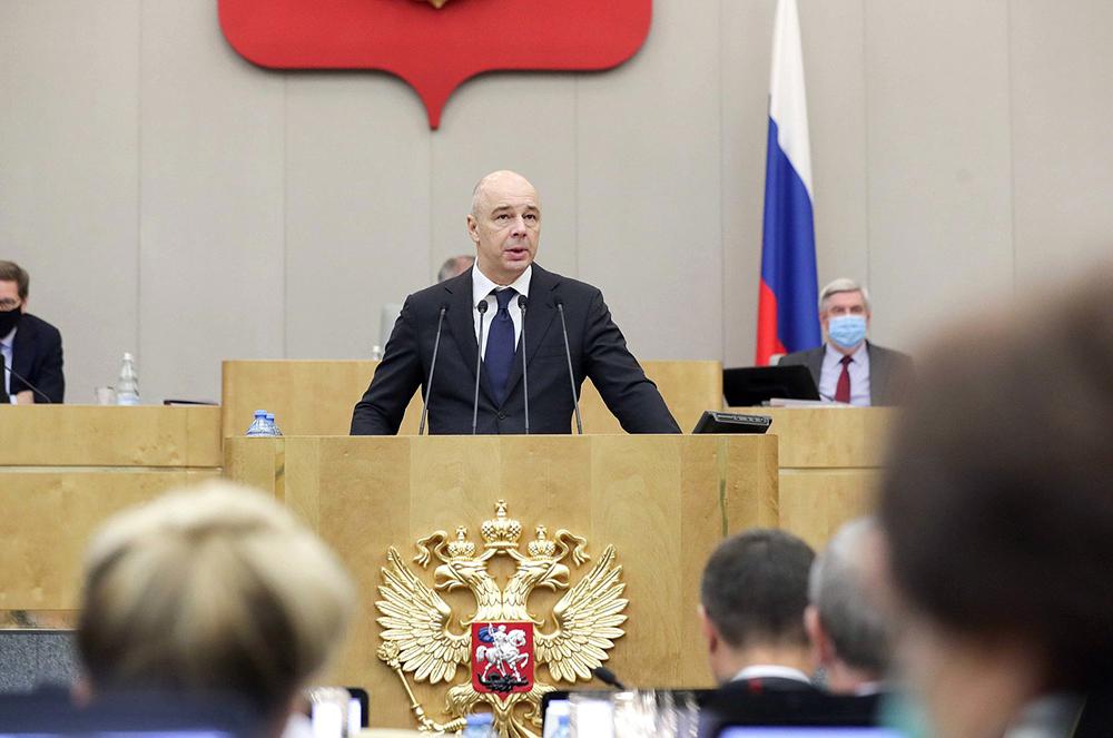 Антон Силуанов в Госдуме