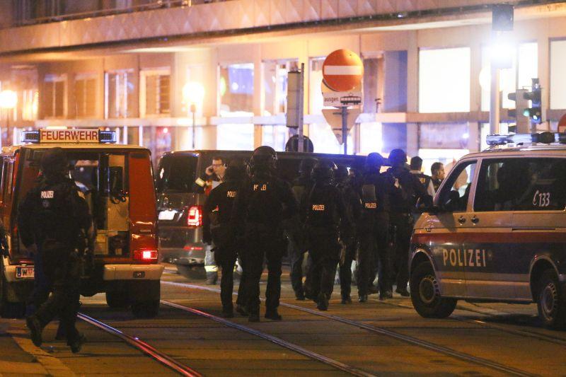 Стрельба в Вене