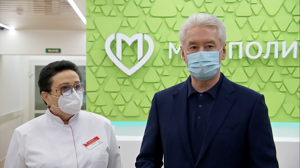 Сергей Собянин осмотрел итоги реконструкции поликлиники на севере Москвы