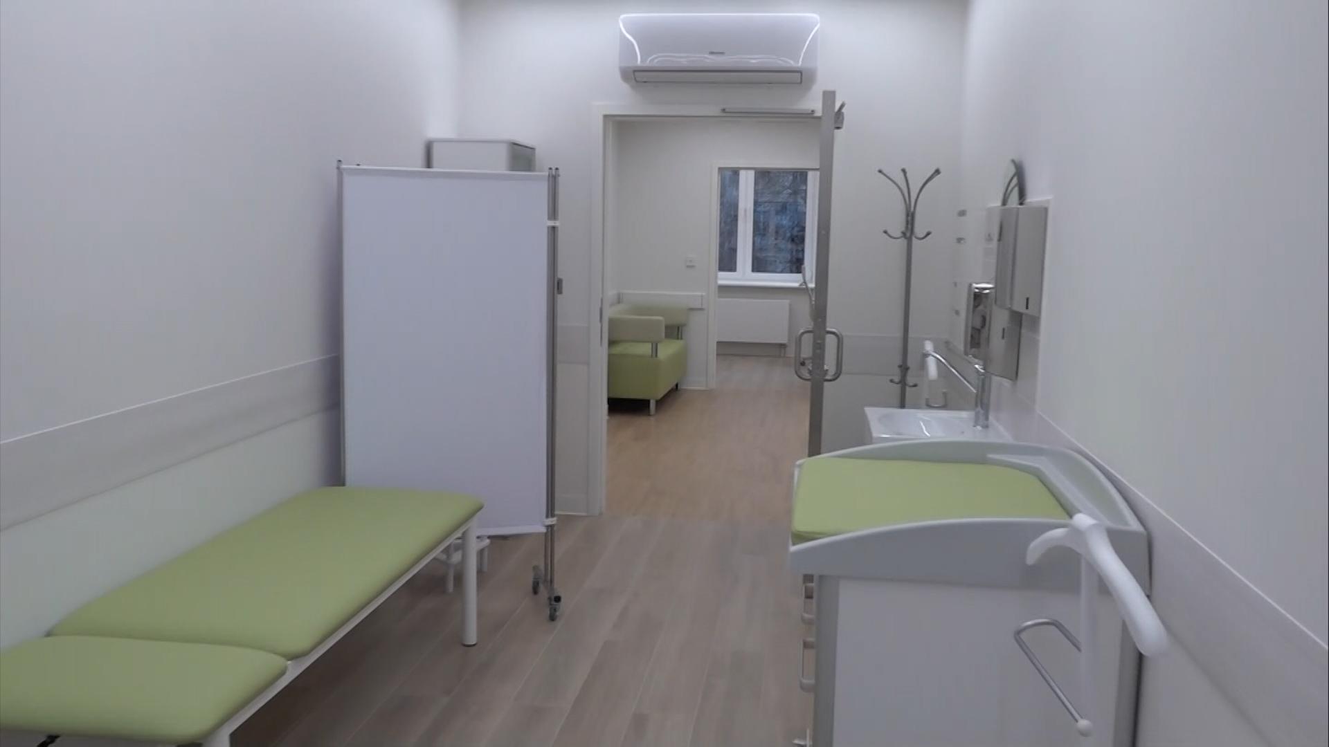 Реконструкция поликлиники на севере Москвы