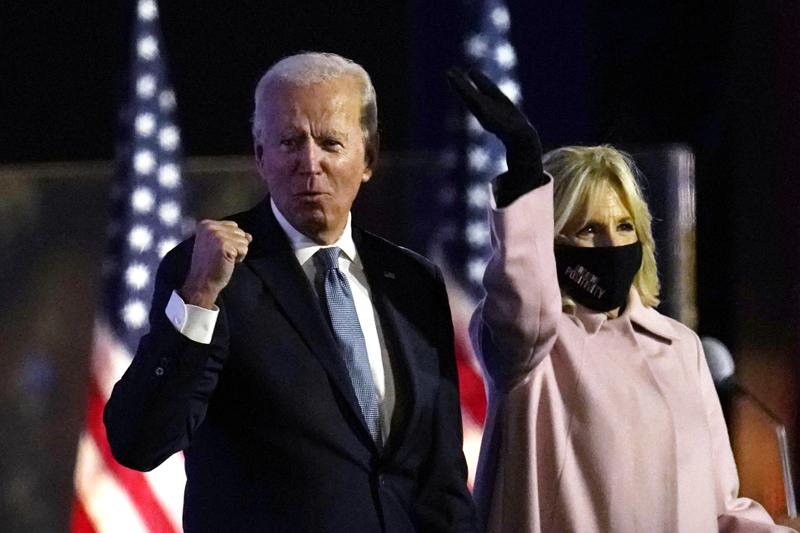 Кандидат на пост президента США Джозеф Байден