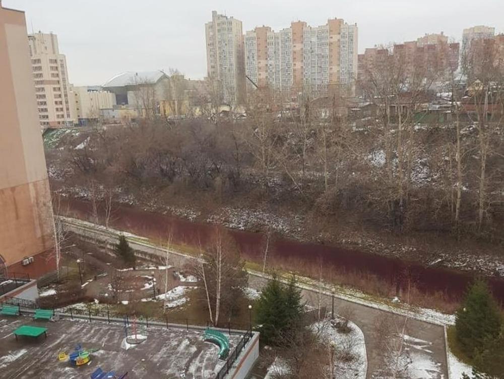 Река в Кемерово