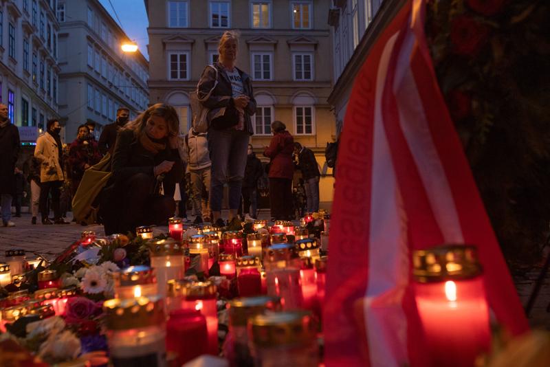 В Вене продолжаются акции памяти жертв стрельбы в центре города