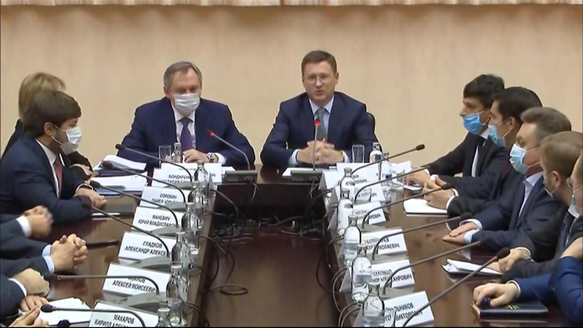 Церемония представления кандидатур новых министров