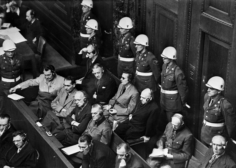 Нюрнбергский процесс. На скамье подсудимых