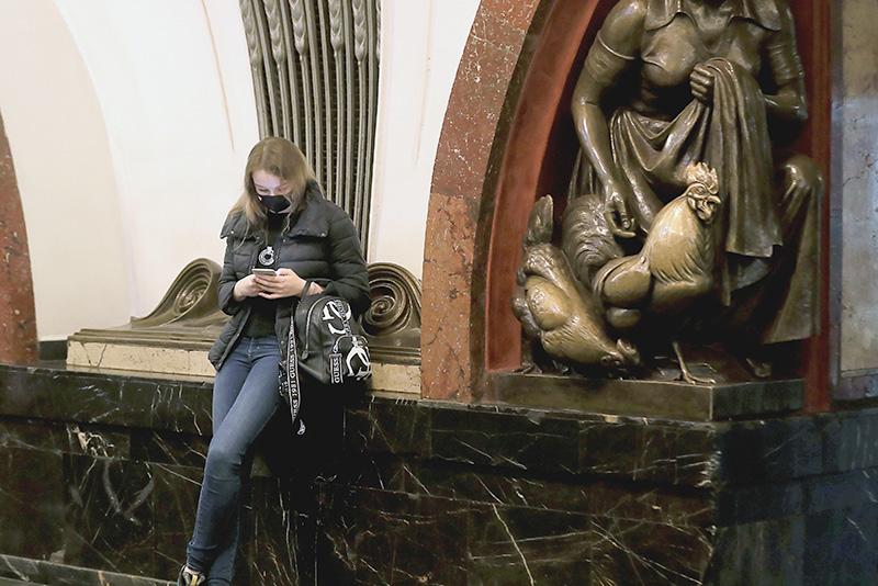 """Станция метро """"Площадь Революции"""""""