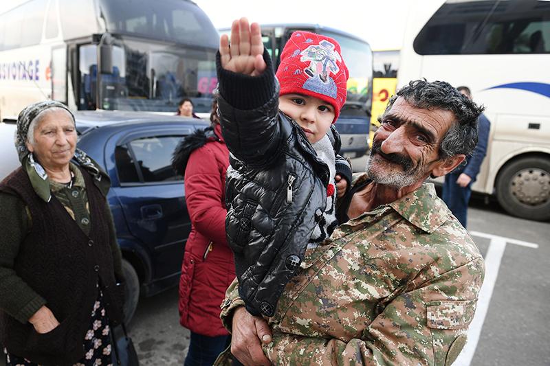 Возвращение жителей в Степанакерт
