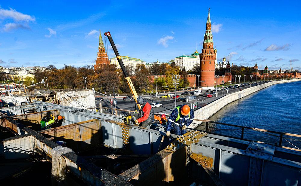 Реставрация Большого каменного моста