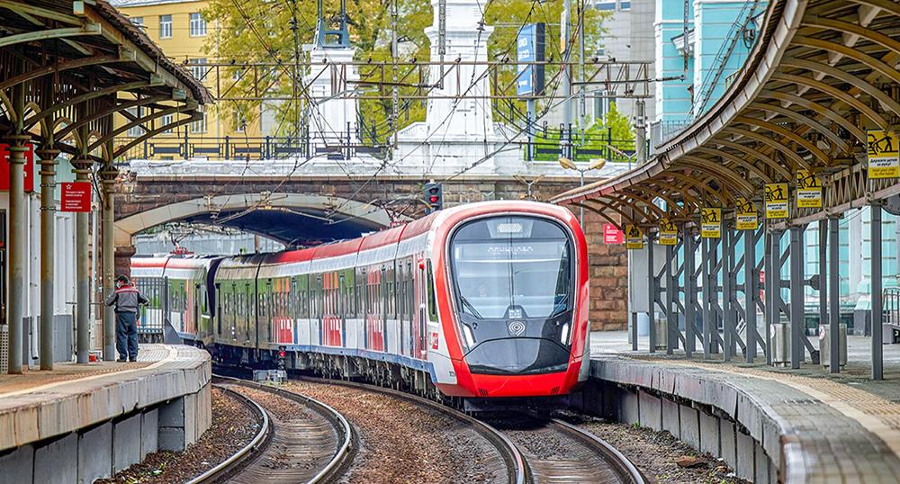 Поезд МЦД