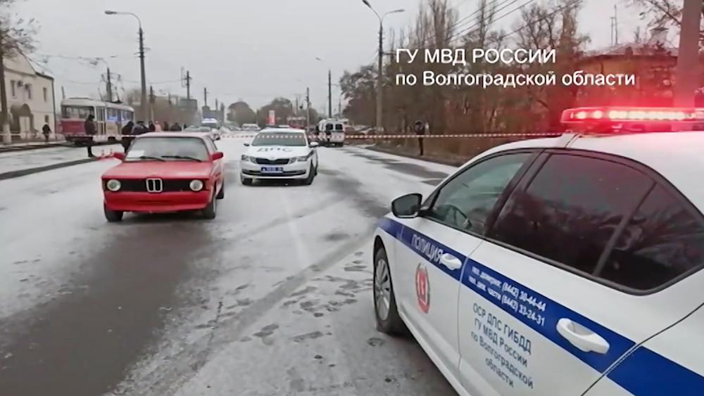 Нападение водителя на сотрудников ДПС