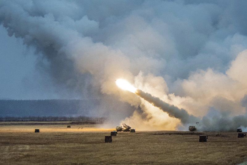 Ракетная установка армии США