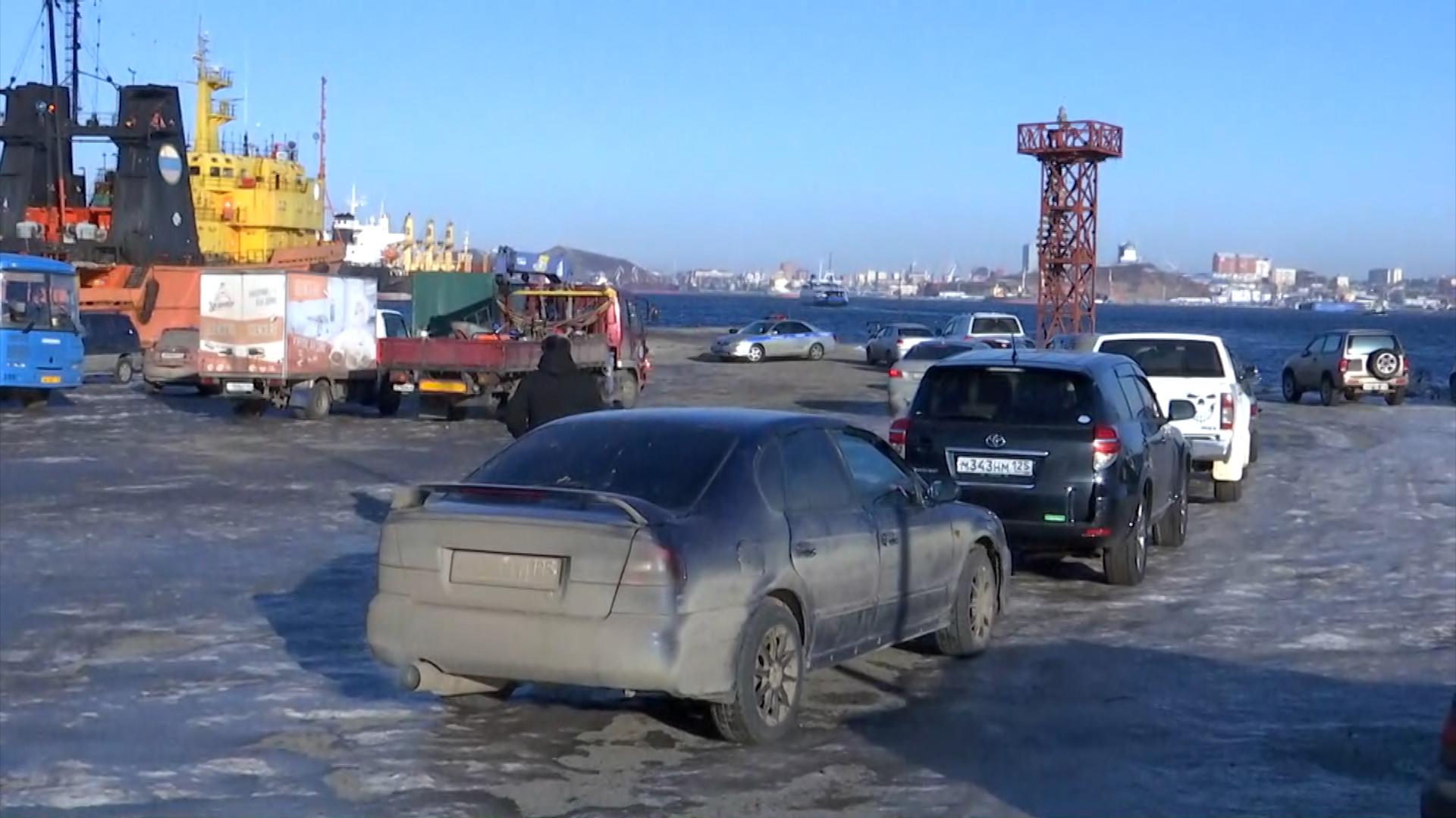 Последствия сильного циклона во Владивостоке