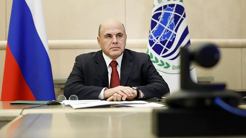 Михаил Мишустин принимает участие в заседании Совета глав правительств государств ШОС