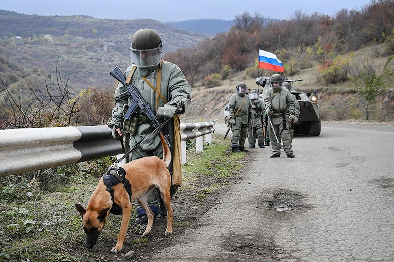 Российские миротворцы в Нагорном Карабахе
