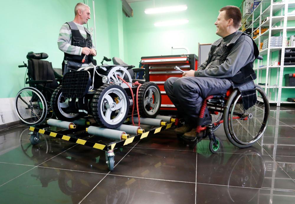 Производство инвалидных колясок