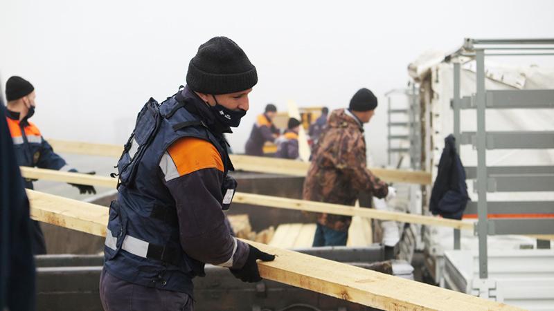 Гуманитарная помощь в Карабахе