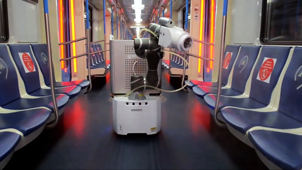 Робот-дезинфектор