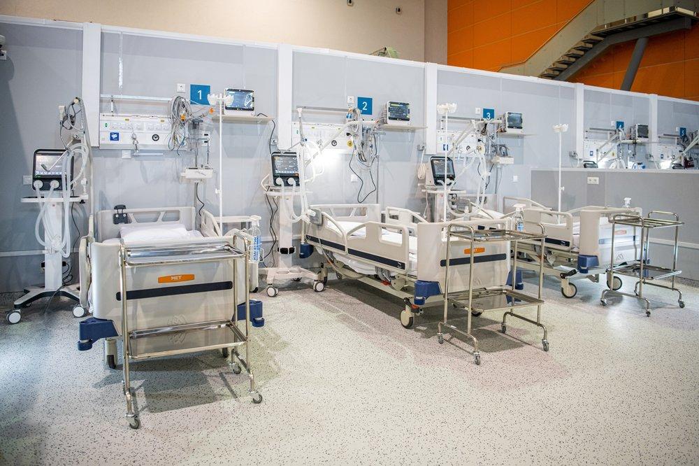 Коронавирусный госпиталь на ВДНХ