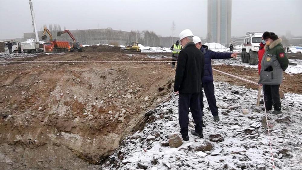 Сергей Собянин осмотрел площадку будущей научно-технологической долины МГУ