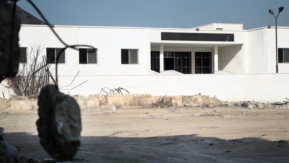 Восстановление клиники в Алеппо