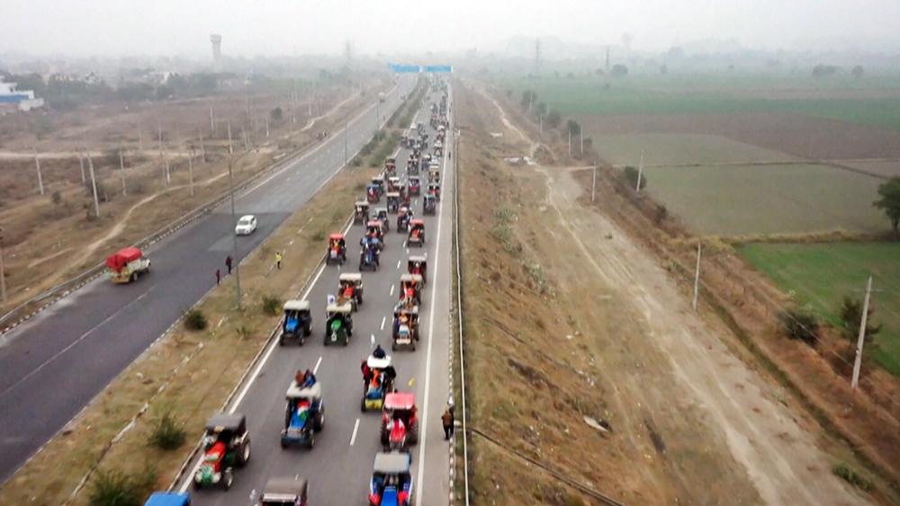 Протесты фермеров в Индии