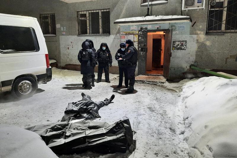 Пожар в жилом доме в Екатеринбурге