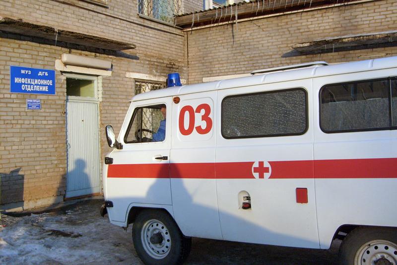 Инфекционное отделение детской городской больницы