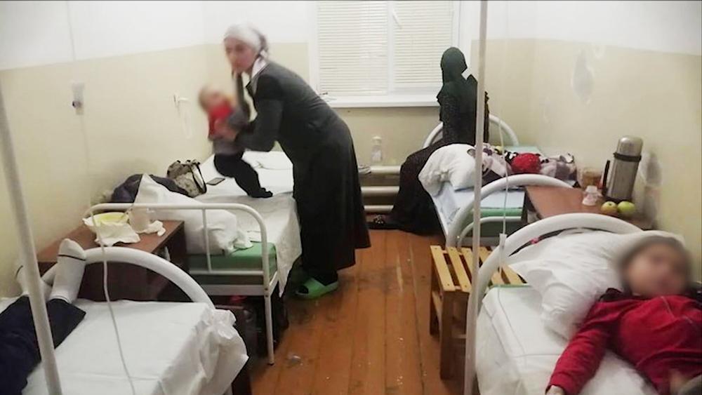Пострадавшие дети в Дагестане