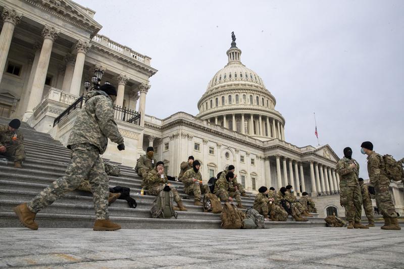 Власти США усилили меры безопасности у здания Конгресса в Вашингтоне