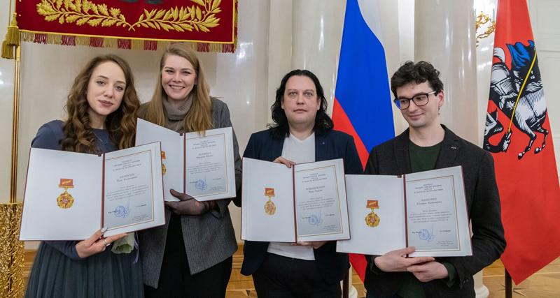 Сергей Собянин вручил премии города Москвы в области журналистики