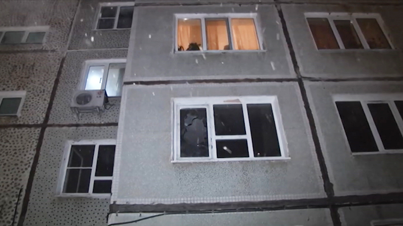 Пожар в жилом доме в Хабаровске