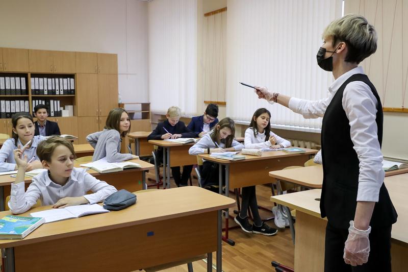 Урок в школе