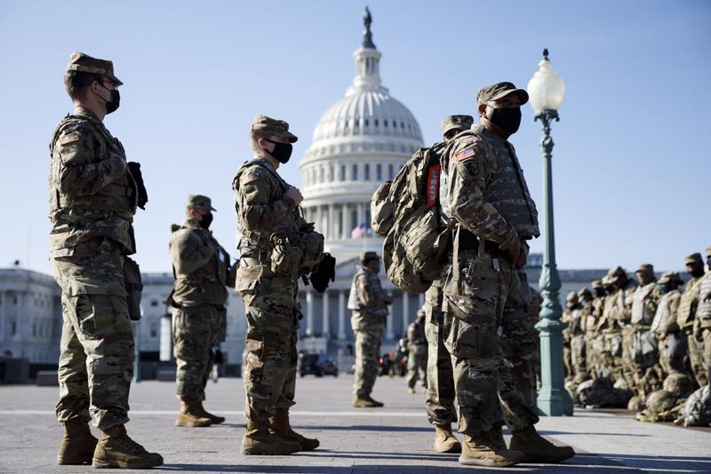 Усиление мер безопасности к инаугурации избранного президента США Джо Байдена