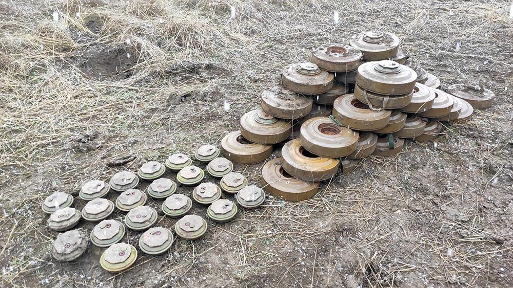 Обезвреженные мины