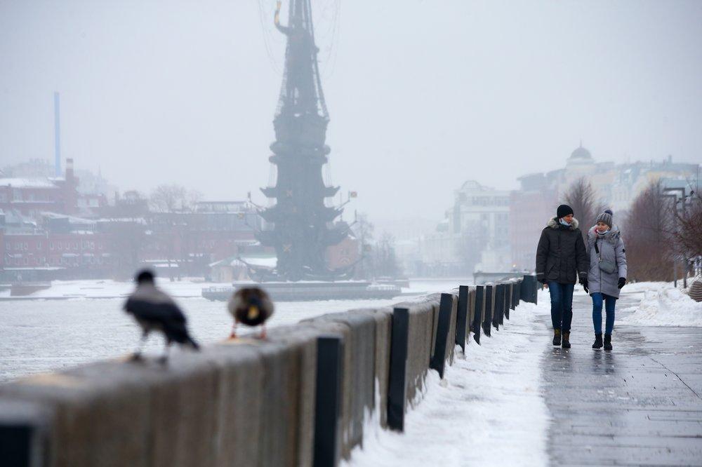 Оттепель в Москве