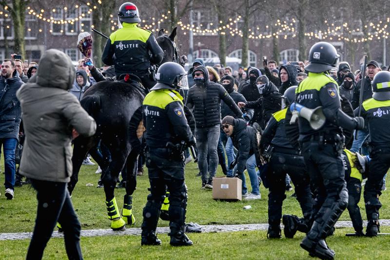Беспорядки в Нидерландах