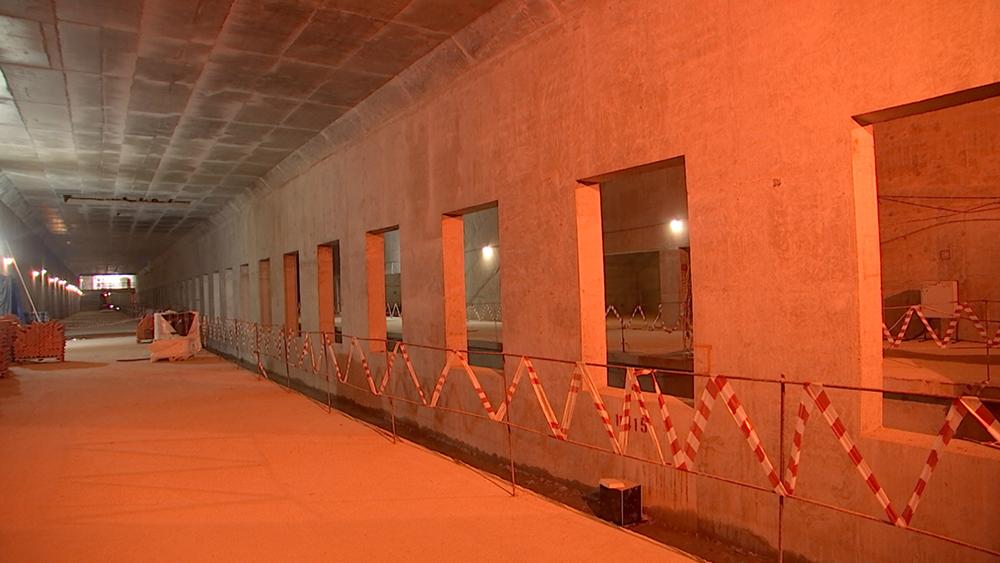 Строительство БКЛ метрополитена