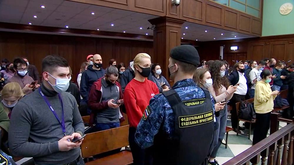 Суд над Алексеем Навальным