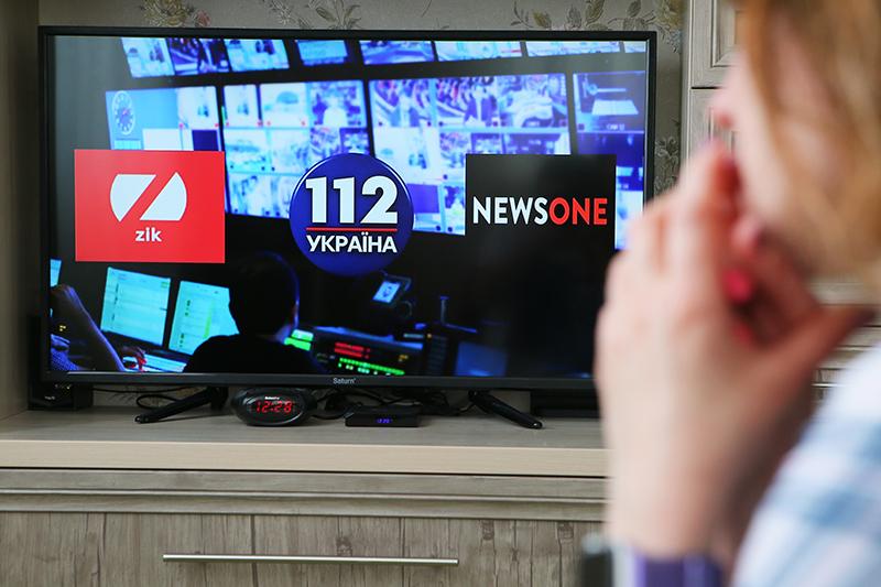 Заблокированные на Украине телеканалы