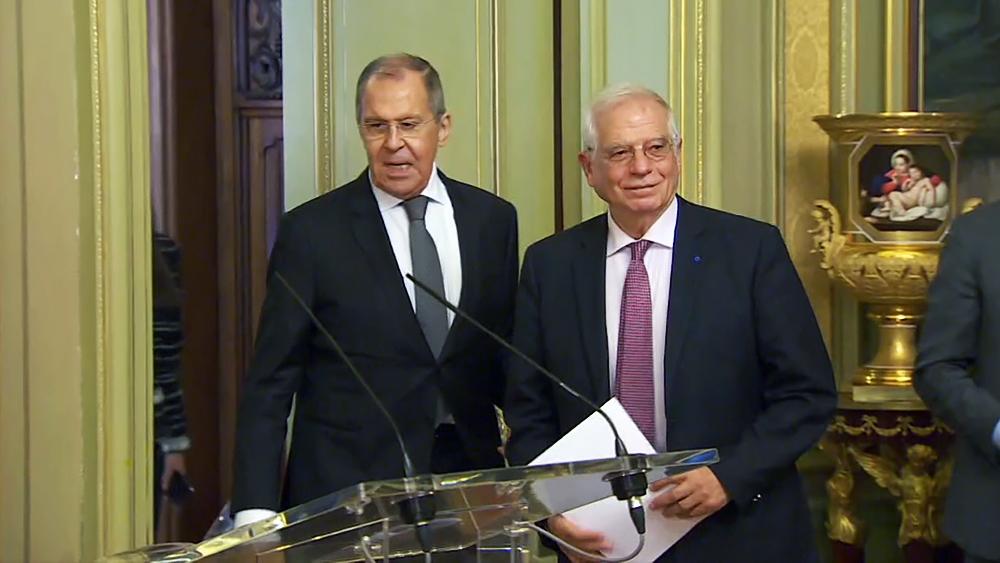 Сергей Лавров и Жозеп Боррель