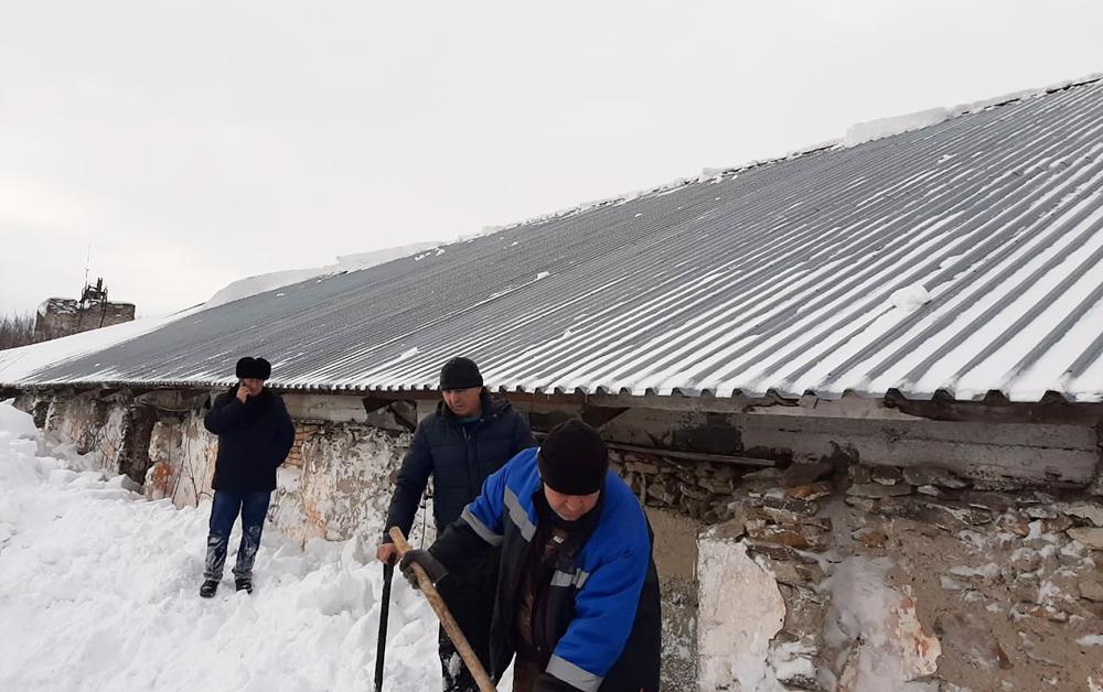 Сход снега в Алтайском крае
