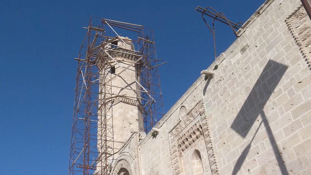 Восстановление мечети в Алеппо
