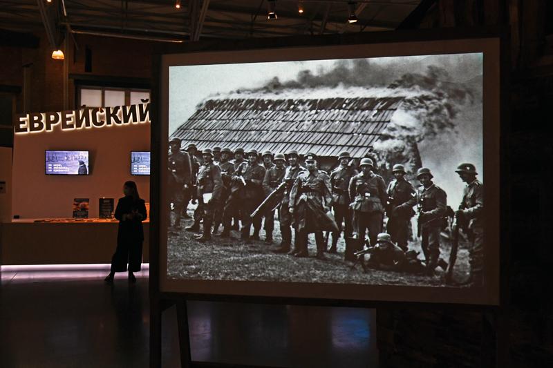 """Выставка """"Ни меры, ни названья, ни сравненья"""" в Еврейском музее и центре толерантности в Москве"""